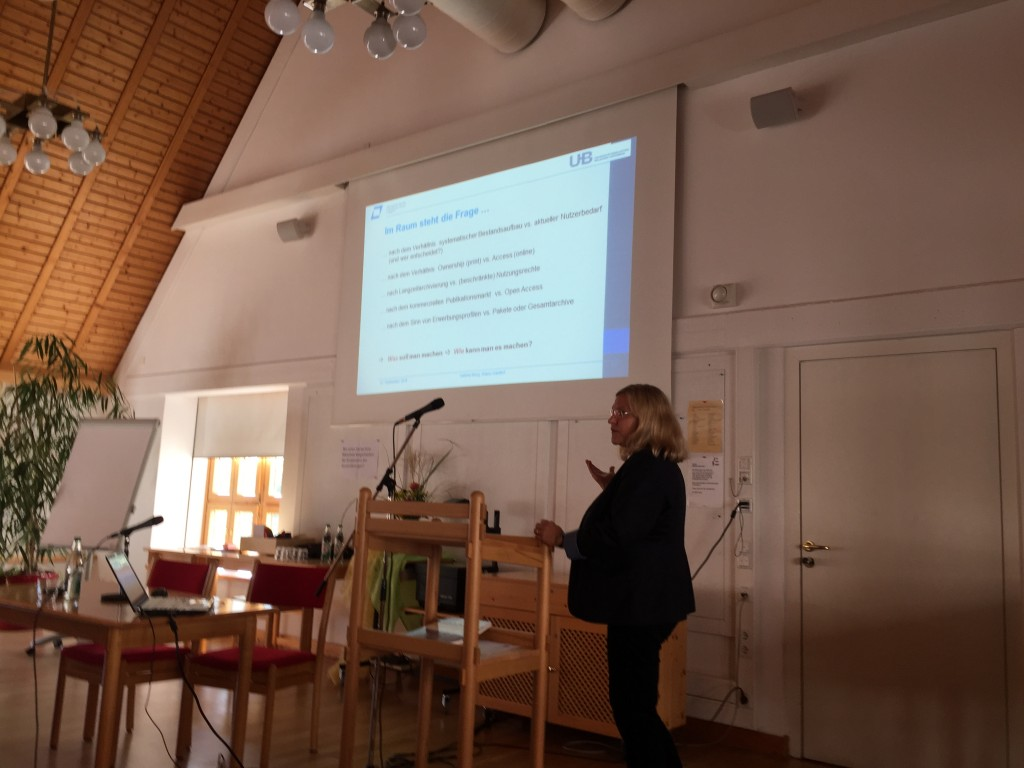 Vortrag Sabine Berg