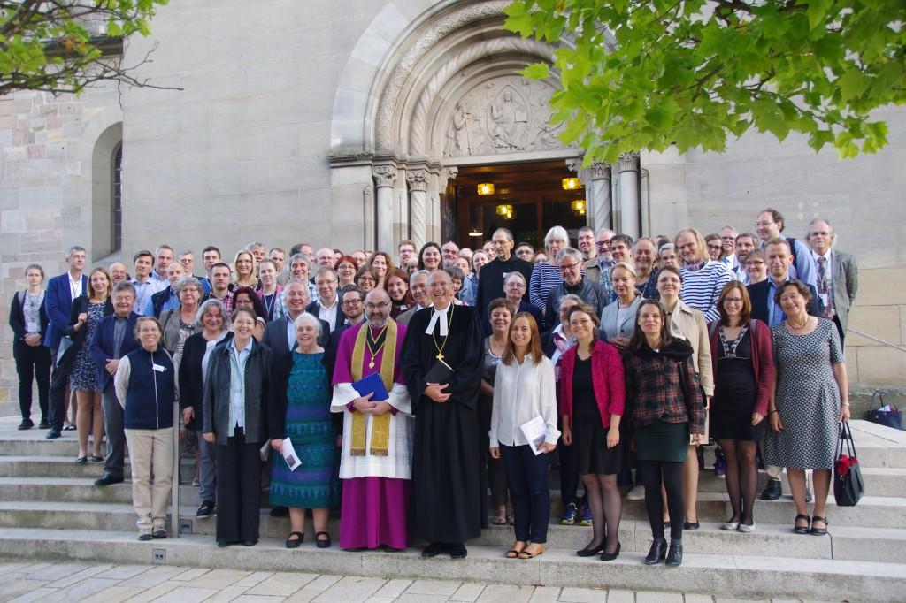 Gruppenbild nach dem ökumenischen Gottesdienst